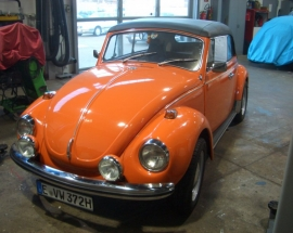 Originales, unrestauriertes 1302 Cabrio