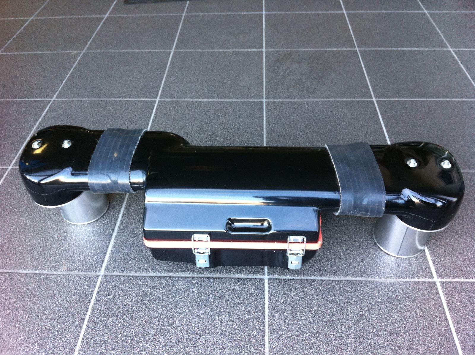 Zentralluftfilter für VW Bus T2 + T3