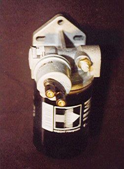 Ölfilteradapter mit integriertem Öltemperatur und Öldruckgeber