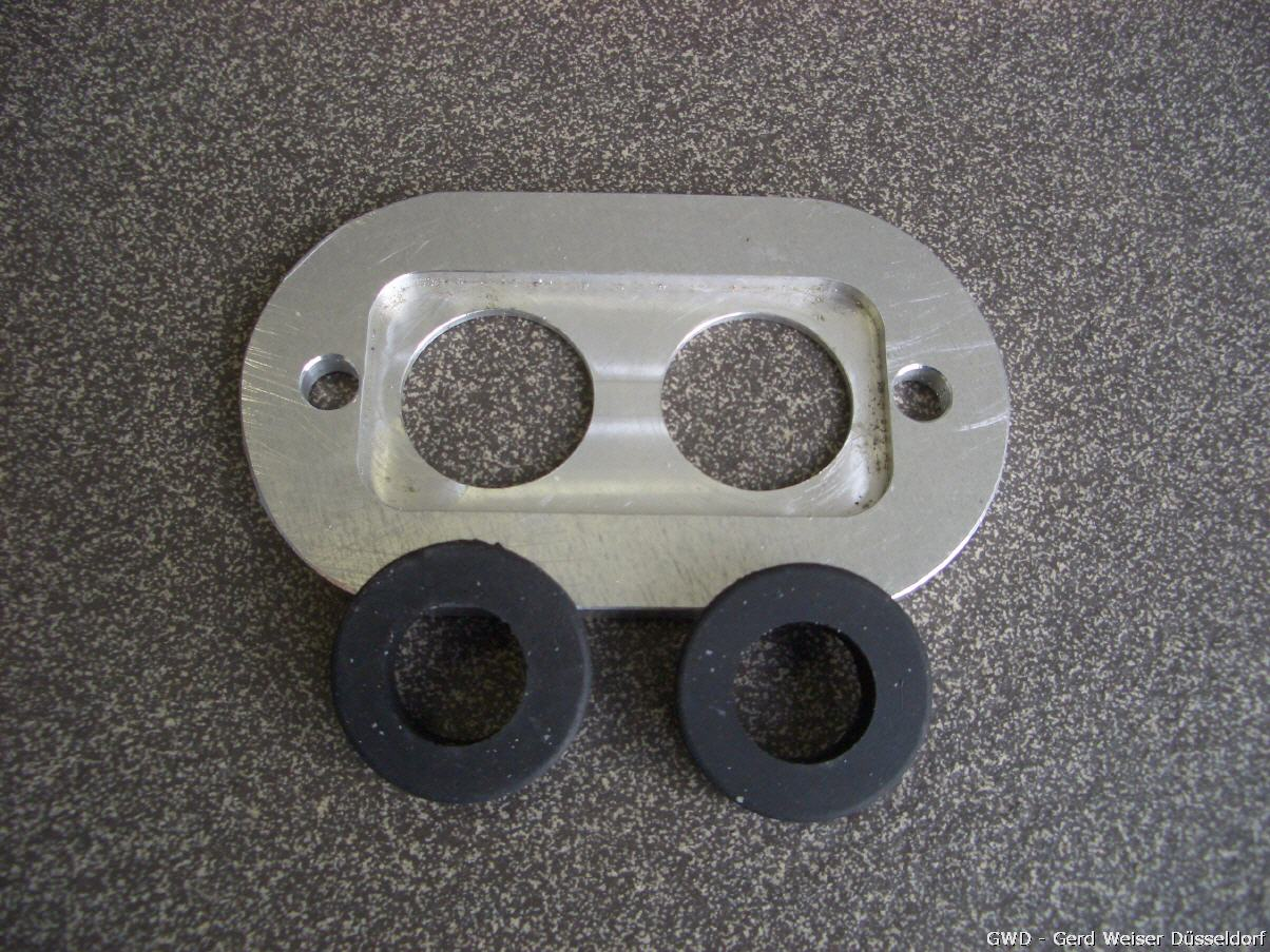 Rahmenkopfdeckel / Alu