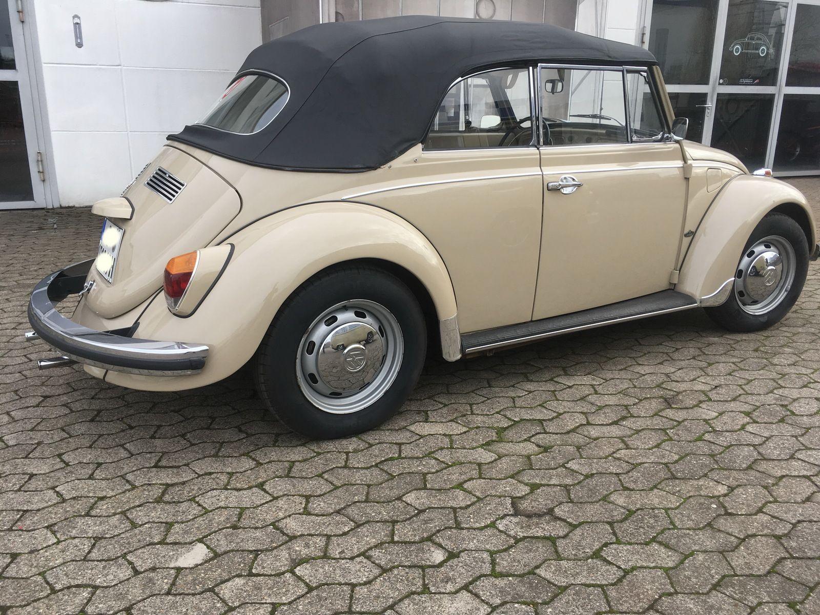 neu Abdeckhülle Persenning VW Käfer 1303 Cabrio schwarz
