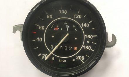 Tacho 200 km/h