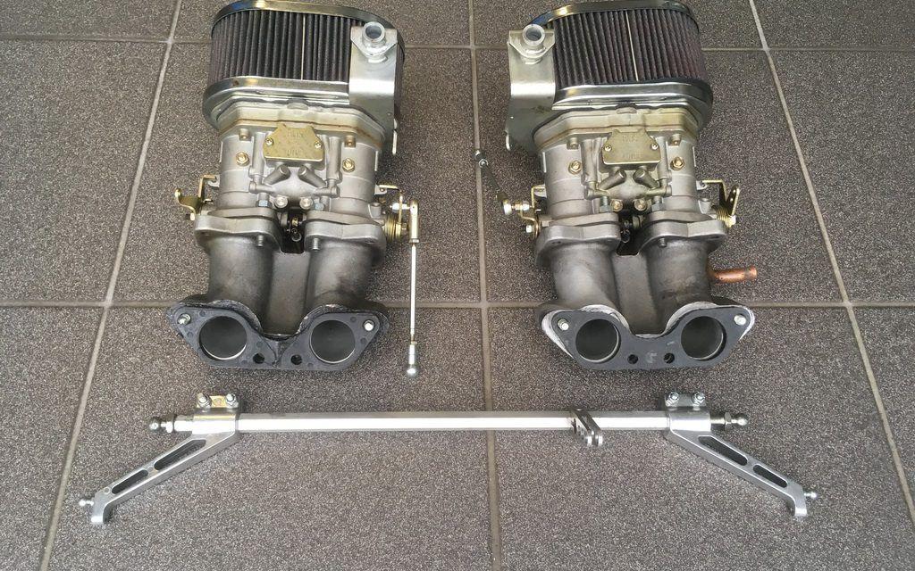 Doppelvergaseranlage 40 FAJS