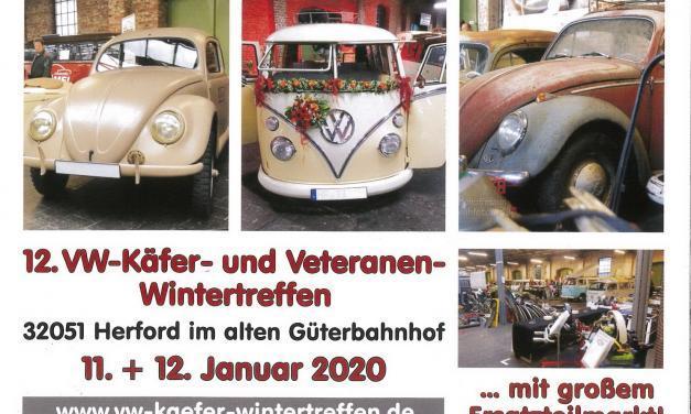 12. VW-Käfer- und Veteranentreffen Herford