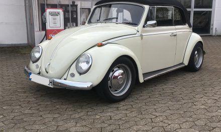 VW Käfer Cabrio Bj. 68