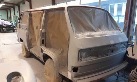 T3 Bus Westfalia Camper / Projekt