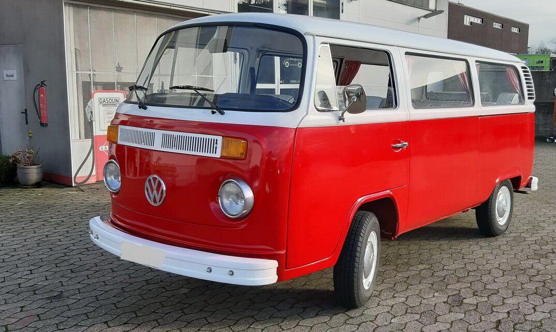 VW Bus T2 mit H-Kennzeichen